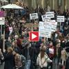 Demonstration für Freiräume und Subkultur