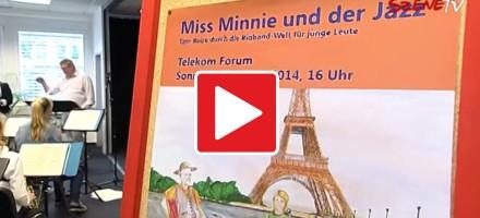 Miss Minnie und der Jazz – Eine Reise durch die Bigband-Welt für junge Leute