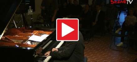 Marcus Schinkel im Klavierhaus Klavins