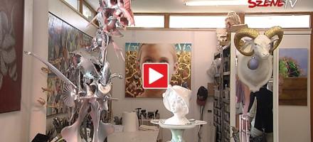 Peter Tutzauer eröffnet sein neues Atelier