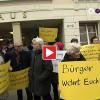 Mahnwache vor dem Bad Godesberger Bürgeramt
