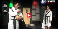 Aufguss im Contra Kreis Theater mit Hugo Egon Balder