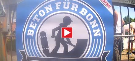 Beton für Bonn Roll-Demo